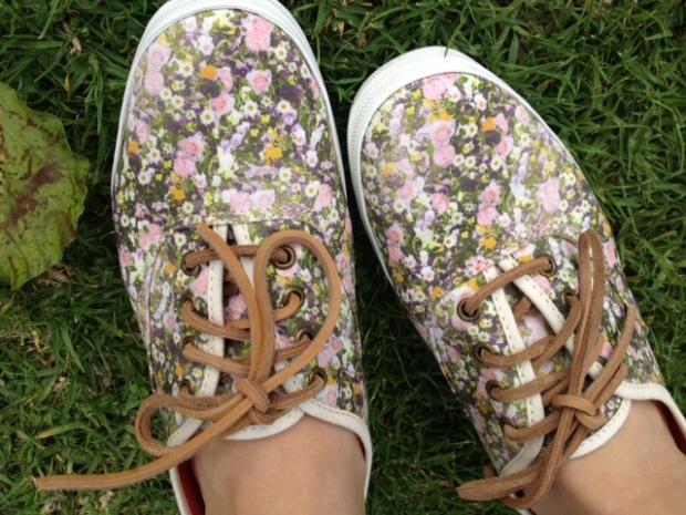 Keds x Madewell Sungarden sneakers via http://itsjoulife.wordpress.com/2013/03/29/ootd-madewell-x-keds-sungarden-sneakers/