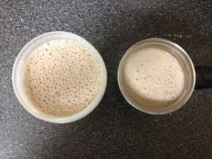 Soy Chocolate Banana Protein Smoothie via https://itsjoulife.com/2013/03/07/recipe-chocolate-banana-soy-protein-smoothie/