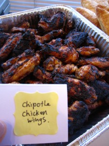 chipotle chicken wings via https://itsjoulife.wordpress.com/2013/04/02/a-blissful-30th-birthday/
