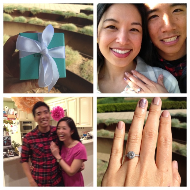 engaged ! via http://itsjoulife.wordpress.com/2013/04/02/a-blissful-30th-birthday/