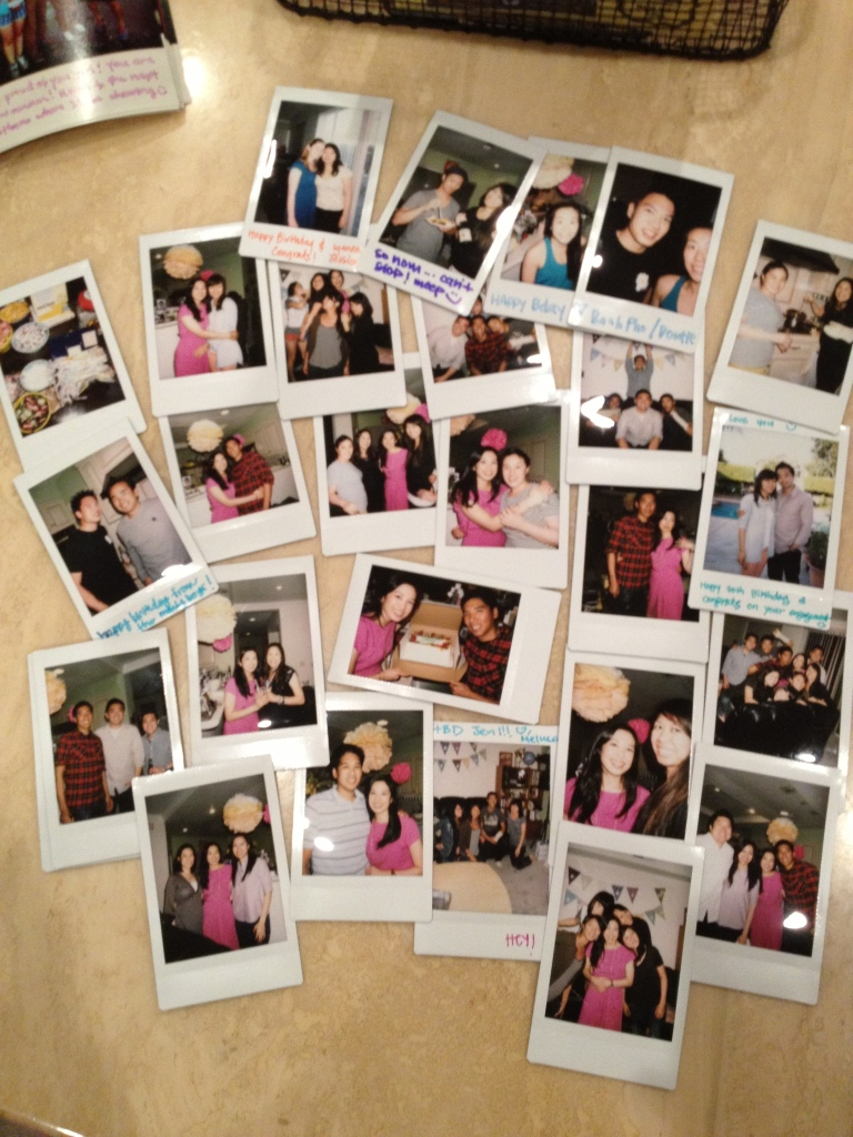 fujifilm instax collage via http://itsjoulife.wordpress.com/2013/04/02/a-blissful-30th-birthday/