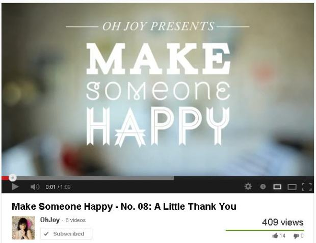 make someone happy via it's jou life - http://wp.me/p3cljj-9E