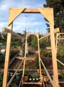 Garden Trellis via it's jou life - http://wp.me/p3cljj-7W