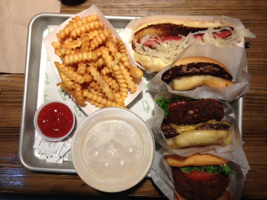 Shake Shack via it's jou life - http://wp.me/p3cljj-ad