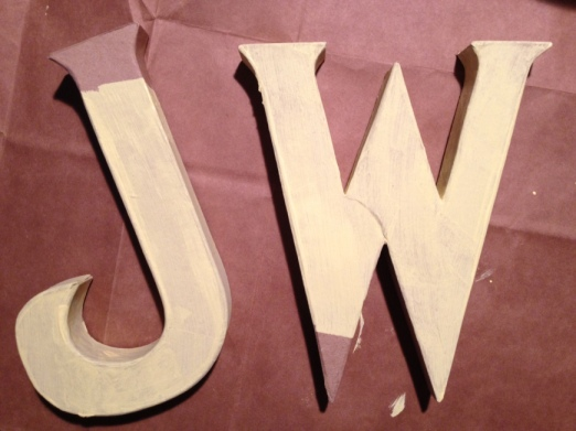 diy craft letters via it's jou life blog http://wp.me/p3cljj-b7