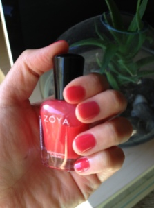 Zoya color: Kate by The Small Things Blog via It's Jou Life Blog http://wp.me/p3cljj-aW
