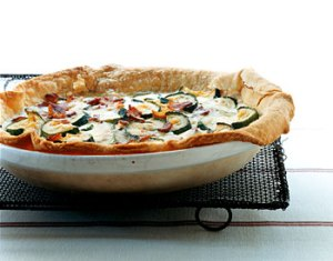 zucchini, bacon, cheese quiche recipe via it's jou life blog http://wp.me/p3cljj-c1