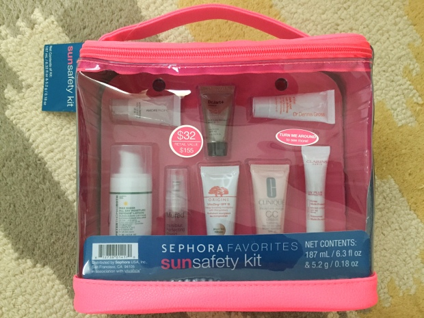 Sephora Sun Safety Kit 2015 http://wp.me/p3cljj-iZ