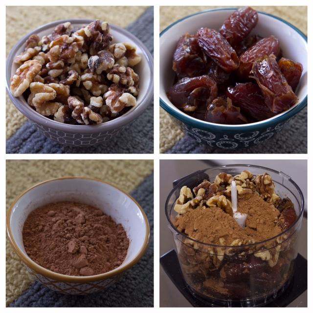 Healthy Walnut + Date Cocoa Energy Balls via It's Jou Life https://itsjoulife.wordpress.com/2015/11/22/recipe-walnut-and-date-cocoa-energy-balls