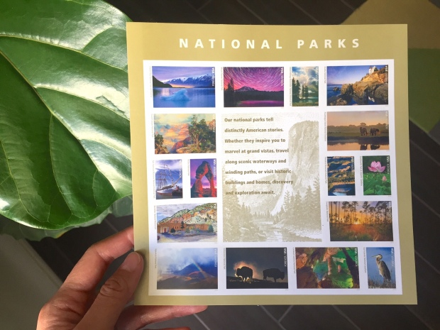 Friday Favorites // NPS Forever Stamps via It's Jou Life https://itsjoulife.wordpress.com/2016/08/18/friday-favorites-stranger-things-happy-centennial-bday-nps-stamps-lynda-com